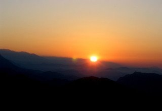 Sarangkot Sunrise & Sunset View Tour Including one hour Paragliding 7 Days