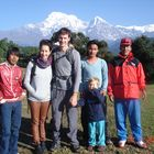 Dhampus-Australian Camp Familien Lodge Trek, 8 Tage