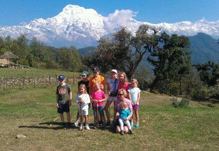 Dhampus-Australian Camp Easy Trek for families, 7 Days
