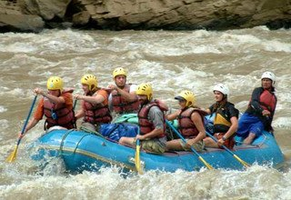 Bhote Koshi River Rafting 1 Night 2 Days including Bungy Jumping