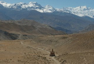 Upper Mustang to Nar Phu Valley via Teri-La Pass Camping Trek, 27 Days