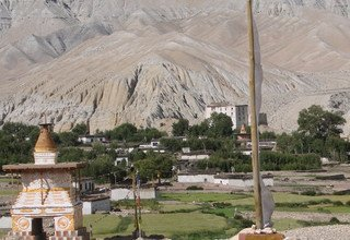 Upper Mustang to Upper Dolpo Camping Trek via Ghami-La Pass (Bhanjyang) 32 Days