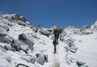 Gosaikunda Lake Trek for families traverse via Lauribinayak-La Pass, 10 Days
