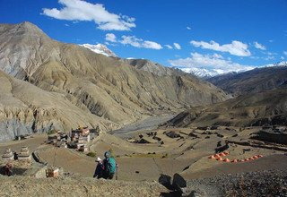 Dolpo Jomsom Trek traverse Musikhola and Jugben-La Pass New Route, 17 Days