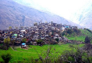 Family Village Cultural Horse Riding Trek to Barpak and Laprak Village in Manaslu Camping Trek, 10 Days