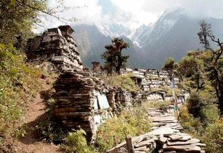 Alpine Way: Section 9: From Jumla to Simikot Nyalu Lagna Pass 4988m, Camping Trek 31 Days