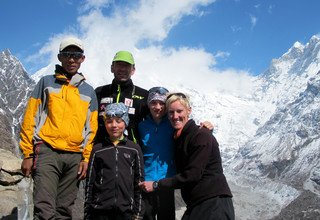 Langtang Classic Family Lodge Trek, Kathmandu Valley Hiking and Chitwan Tour, 28 Days 11 April to 08 May 2014