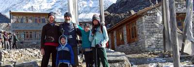 Langtang Classic Family Lodge Trek, 9 Days 29 March to 06 April 2014