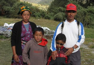 Classic Langtang Family Lodge Trek 13 Days, 06 Oct to 18 Oct 2012