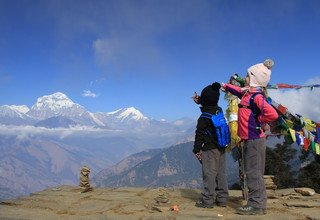 Poon Hill-Ghorepani-Ghandruk Circuit Family Lodge Trek, 9 Days, From 21-December to 29-December -2016