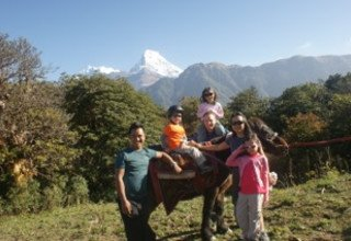 Ghorepani-Ghandruk Circuit (Poon Hill) Family Lodge Trek and Chitwan National Park Tour, 11 Days Arriving 21 October to 31 October 2016