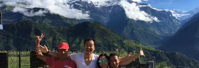 Ghorepani-Ghandruk Circuit (Poon Hill) Family Lodge Trek, 7 Days, From 7 August to 13 August 2016 ,2Pax)