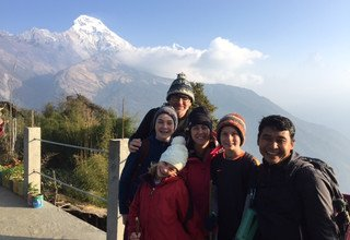 Ghorepani-Ghandruk Circuit (Poon Hill) Family Lodge Tour & Trek and Chitwan Tour, 13 Days, 7th Dec to 19th Dec 2015