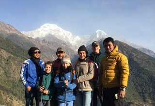 Long Version of Ghorepani-Ghandruk Circuit (Poon Hill) Family Lodge Trek, 14 Days 18 Dec to 31 Dec 2015