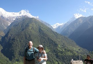 ABC Challenging Family Lodge Trek and Chitwan Tour 25 Days, 21 Sep to 15 Oct 2012
