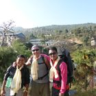 Indigenous Peoples's Trail Home-Stay Lodge Trek 12 Days, 6 November to 17 November 2014