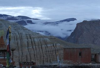 The Forbidden Kingdom Upper Mustang, Lodge Trek 8 Days flight back by Heli 25 Aug to 31 Aug 2013