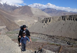 Lower Mustang Family Lodge Trek 9 Days, 01 March to 09 March 2014