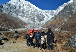 Horse Riding Trek to Langtang Valley with Children, 13 Days