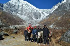 Horse Riding to Langtang Classic Lodge Trek, 13 Days