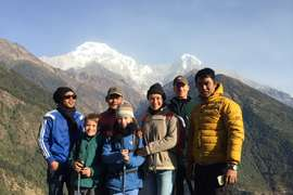 Annapurna View Deluxe Lodge Trek, 9 Days
