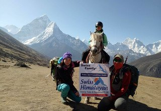 Horse Riding Trek to Everest Panorama with Children or without, 10 Days