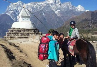 Horse Riding Trek to Everest Panorama with Children, 10 Days