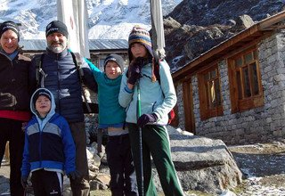 Langtang Valley Trekking for families with 2 Nights Adventurous Camping, 13 Days