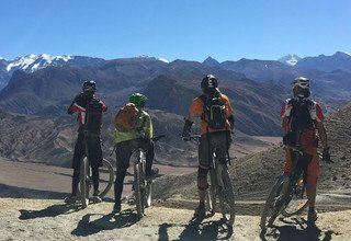 Mountain Biking Trip to Upper Mustang of Nepal, 16 Days