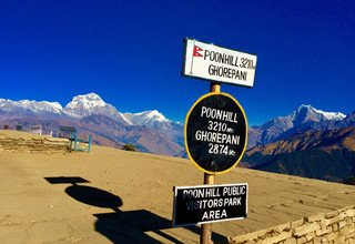 Annapurna Panorama Trek for families combined White Water Rafting and Chitwan Tour, 14 Days