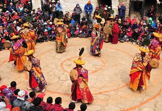 Tiji Festival in Upper Mustang Lodge Trek 12 Days, (Full Moon of May) 2021 Shortest possible Tour