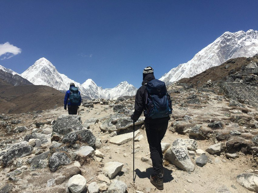 One the way to Everest Base Camp