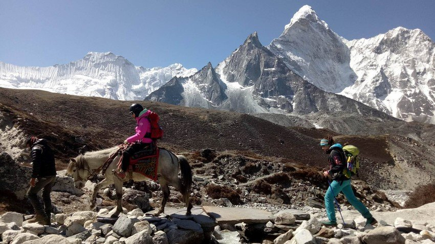 Horse Riding Trek to Everest Base Camp