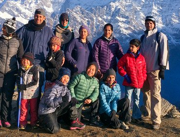 Mardi Himal Trekking with Children, 10 Days