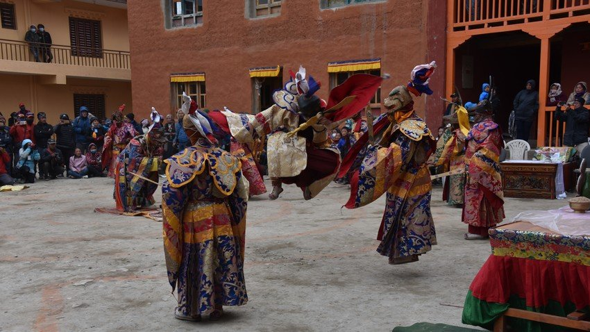 Tiji Festival in Lomanthang, Mustang