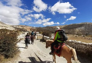 Le royaume interdit, upper Mustang 17 jours