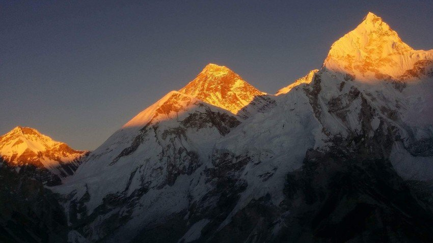 View of Mount Everest from Kalapatthar