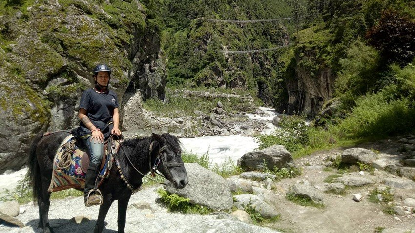 Everest Base Camp Trek on Horseback