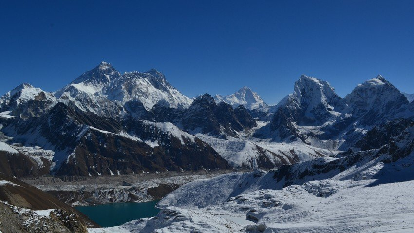 Everest High Passes traverse - the single most scenic trek