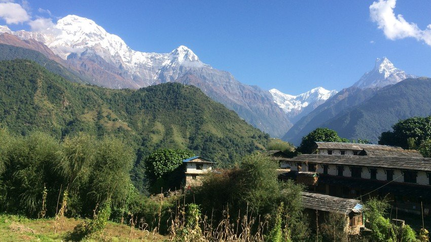 Annapurna Panorama short and easy trek
