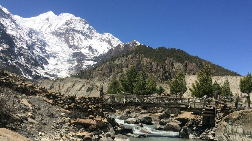 Manang - the most dramatic village with Annapurnas