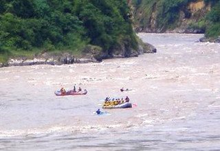 White Water Rafting and Chitwan National Park Tour
