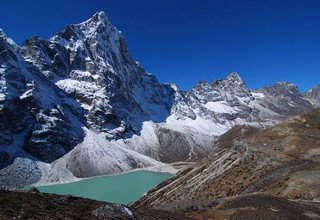 Cholatse Peak Climbing 6335m, Camping 26 Days